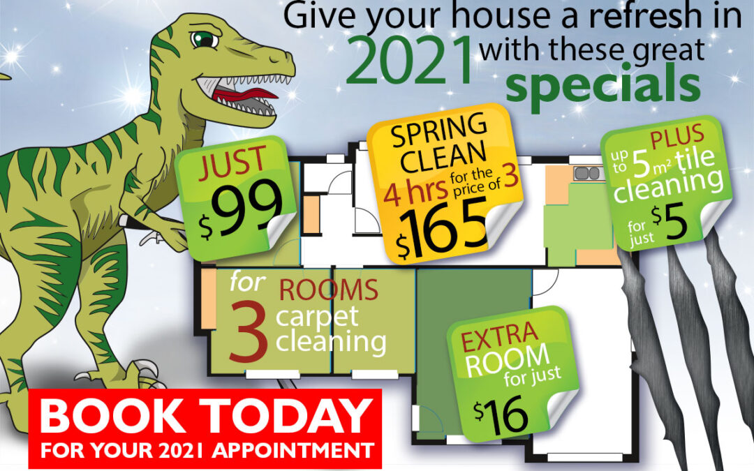 Get your house ready for 2021 with these great specials